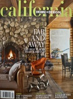 2007 January - California Home + Design cover