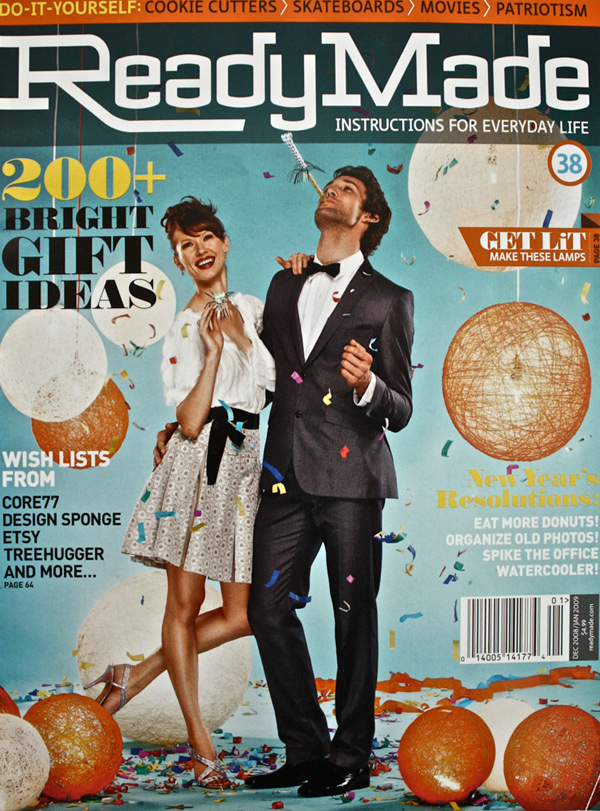 2009 January - Ready Made cover