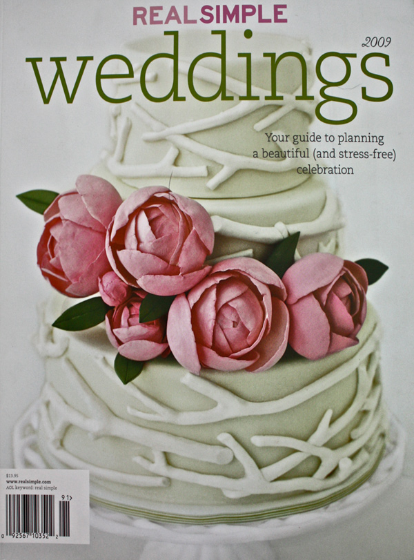 2009 - Real Simple Weddings cover
