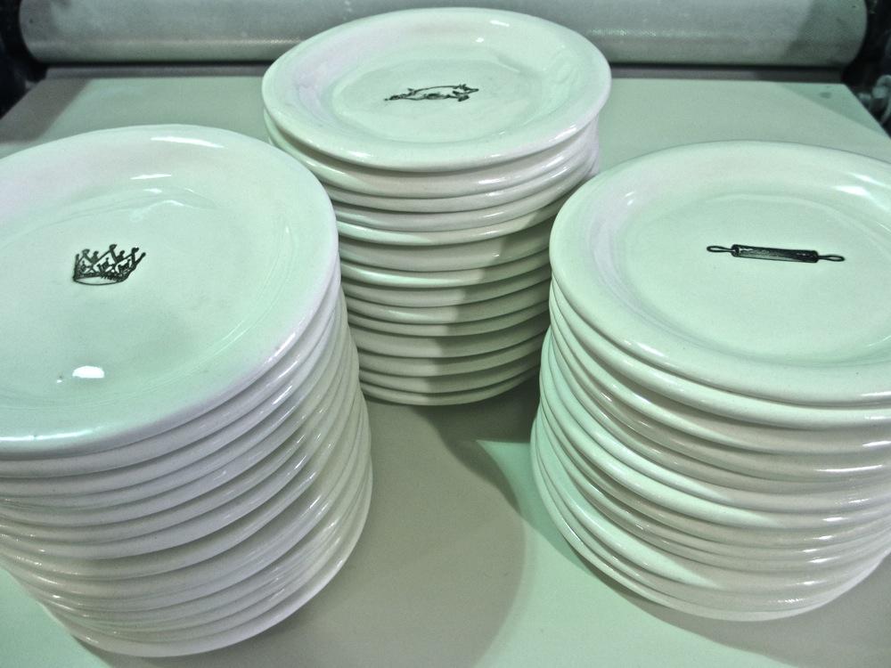 Plates Rae Dunn Clay