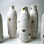 flower power vases by rae dunn