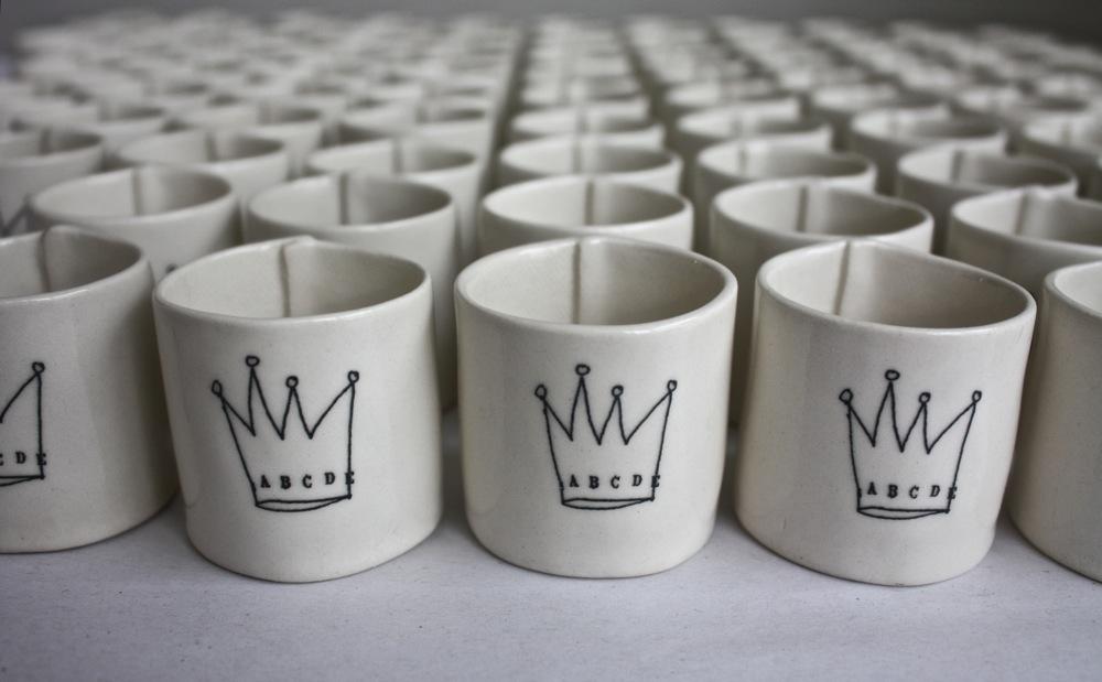 Cups Rae Dunn Clay