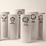 porcelain vase by rae dunn