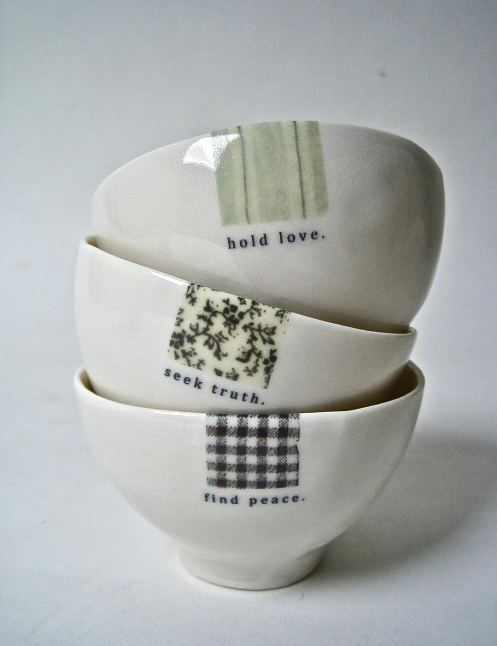 Bowls Rae Dunn Clay
