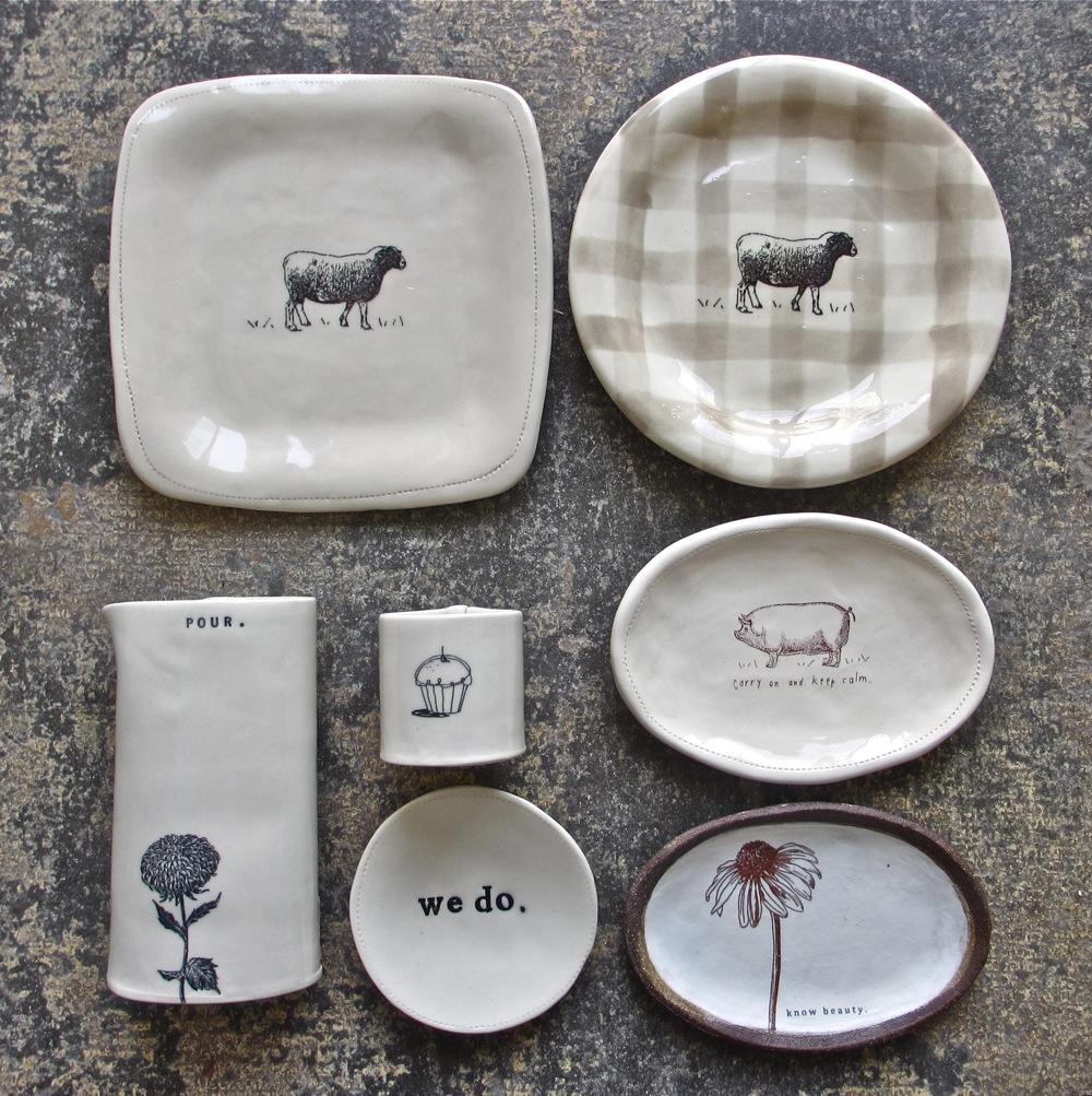 Seconds Sale Rae Dunn Clay Fine Handmade Pottery