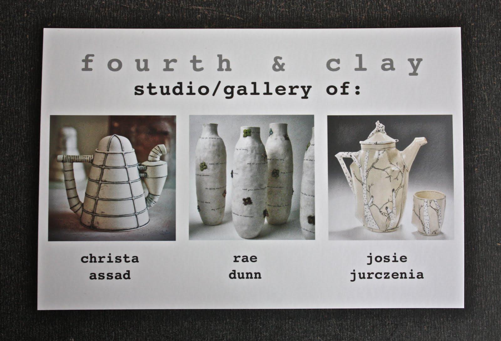 Winter Wonderland Rae Dunn Clay Fine Handmade Pottery