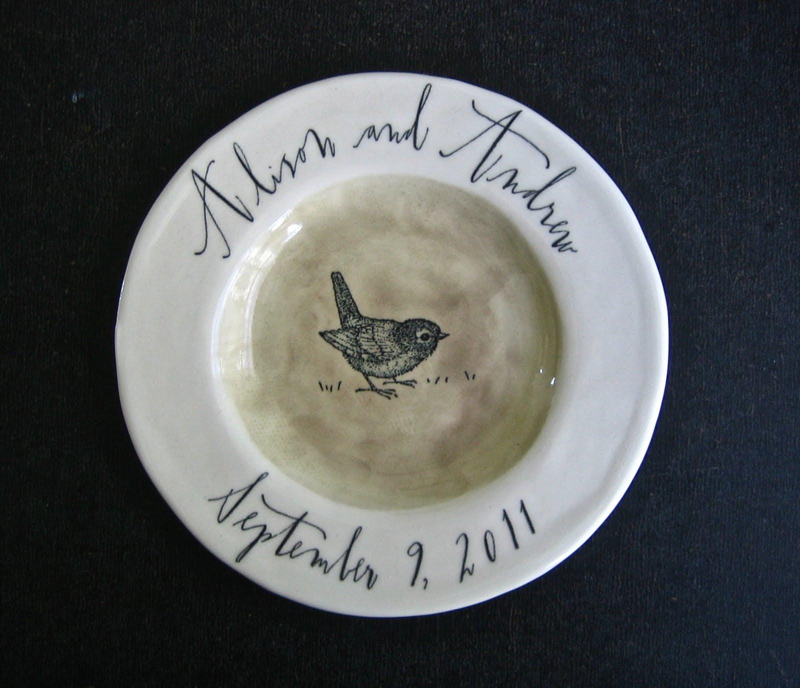 Birth plate rae dunn clay fine handmade pottery for Linea carta canape plates